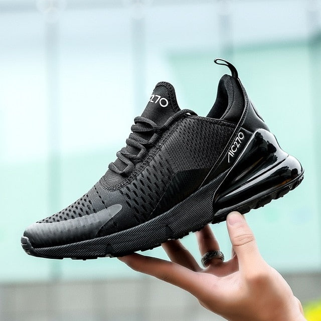 Running Shoes For Men Air Cushion Mesh Fitness Trainer Sport Shoes Male Sneakers - Ylime