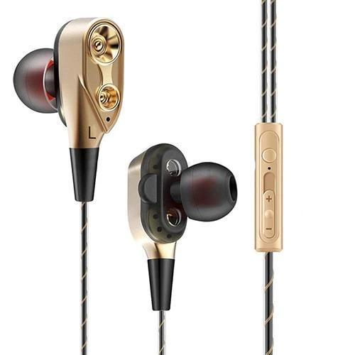 Dual Drive Wired Earphones - Ylime