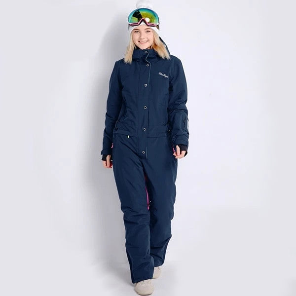 Winter snowboard ski jacket ski suits females jumpsuit women snowboard waterproof - Ylime