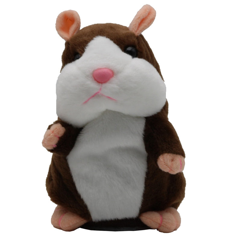 Talking Hamster Mouse Pet Plush Toy voice repeating - Ylime