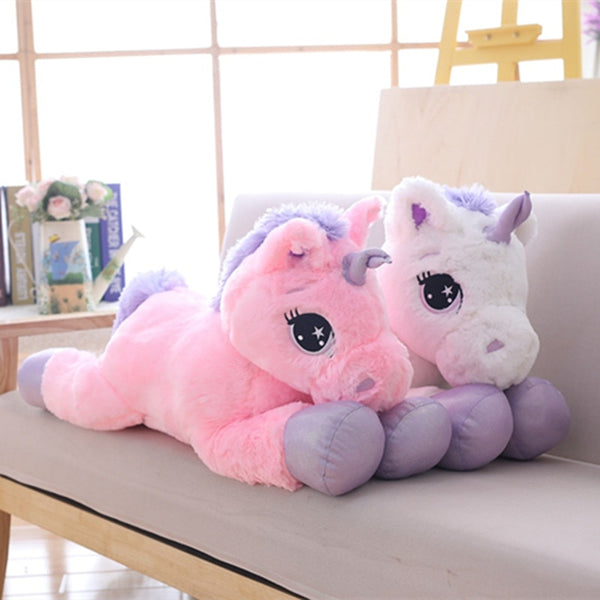 Unicorn Plush Toy Soft Stuffed Popular Cartoon Unicorn - Ylime