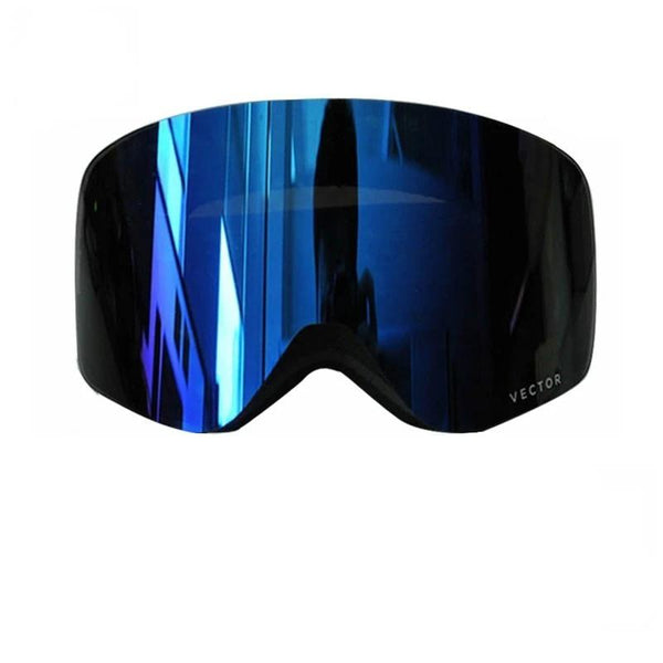 Ski Snowboard Goggles Women Men Skiing Eyewear Mask Snow Protection Anti-Fog Cylindrical - Ylime