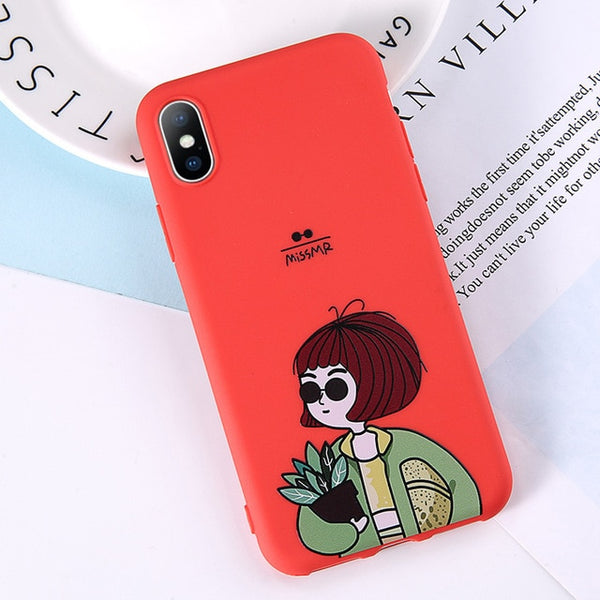 Cartoon Phone Case For iPhone - Ylime