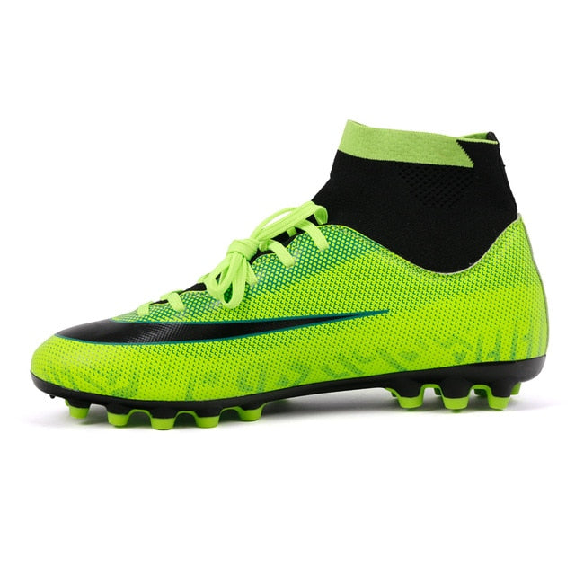 Professional Soccer Shoes Kids Men Outdoor Football Boots - Ylime