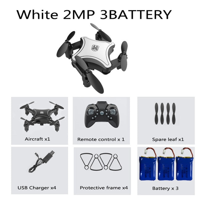 K9 Mini Foldable Drone Quadcopter with 4K Camera HD - Ylime