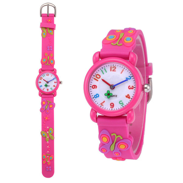 Kids Quartz Watch Girl's Clock - Ylime
