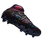 High Ankle Football Boots Comfortable Spikes Cleats Black Green - Ylime