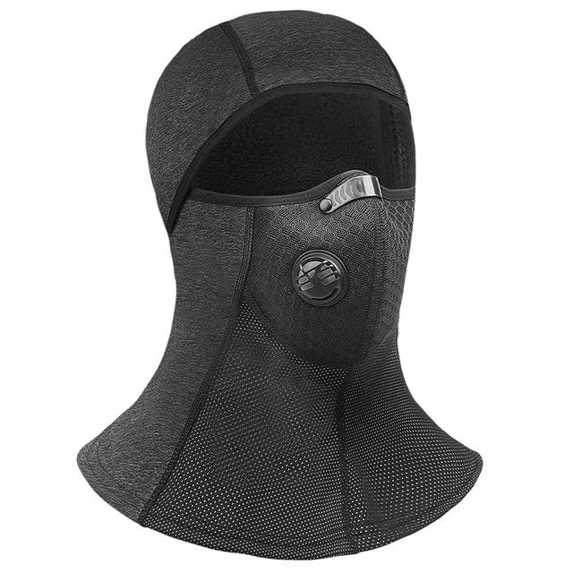 Winter Ski Mask Fleece Thermal Cycling Mask Anti-Dust Cycling Cap Windproof Full Face Cover - Ylime