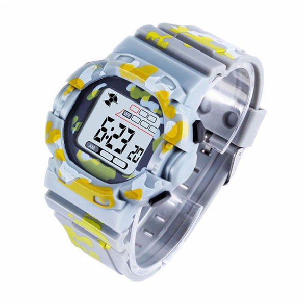 Sports Childrens Watch Military Multifunction LED Digital Clock For Boy Girl - Ylime