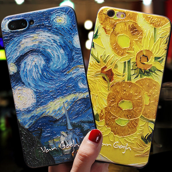 Painted Iphone Art Case - Ylime