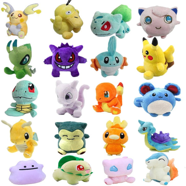 20 Styles Plush Toy Pikachu Snorlax Charmander Mewtwo Dragonite - Ylime