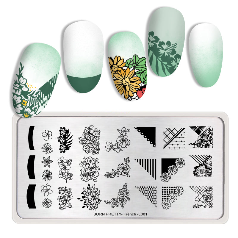 DIY Marble Art Image Nail Tips - Ylime