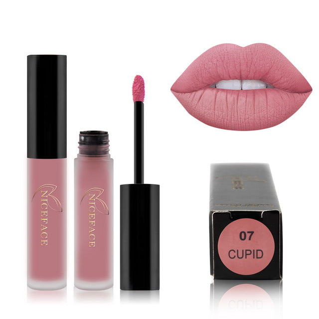 25 color liquid lipstick sexy nude matte liquid lipstick waterproof - Ylime
