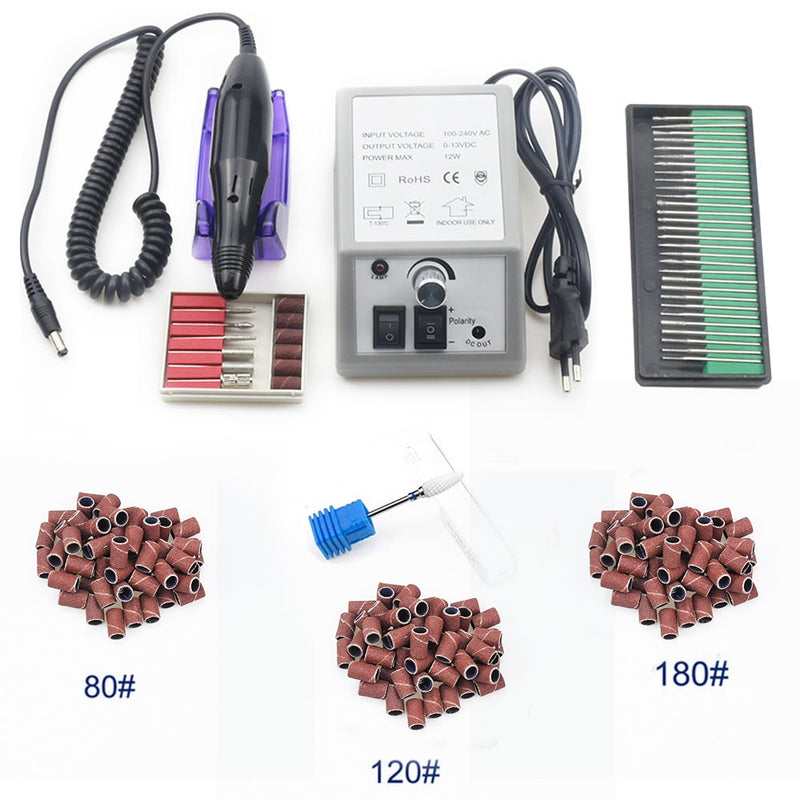 Electric Nail Drilling Machine Set - Ylime