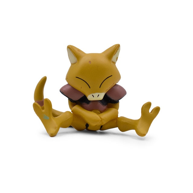 Pokemons Charmander Cubone Bulbasaur Alola Vulpix Fennekin Chespin Pikachu Squirtle Froakie Rockruff Abra Anime Action Toy Figures - Ylime