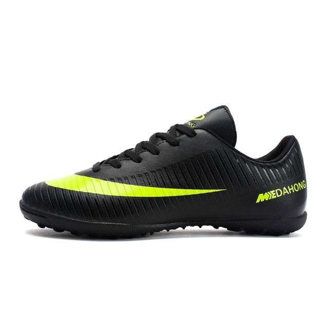 Soccer Shoes for Men Kids indoor football Shoes sneakers Comfortable Waterproof - Ylime