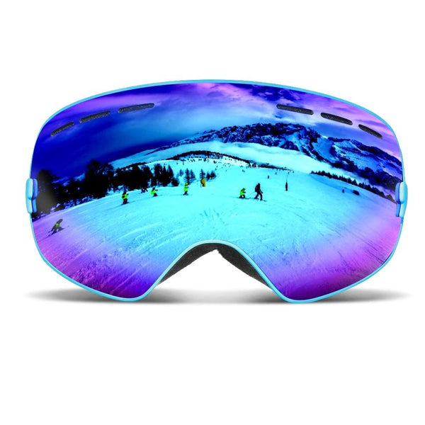 Ski Goggles Men Women Snowboard Goggles Glasses for Skiing Protection Snow Skiing Glasses Anti-fog Ski Mask - Ylime