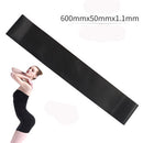 5 Colors Yoga Resistance Rubber Bands Indoor Outdoor Fitness Equipment - Ylime