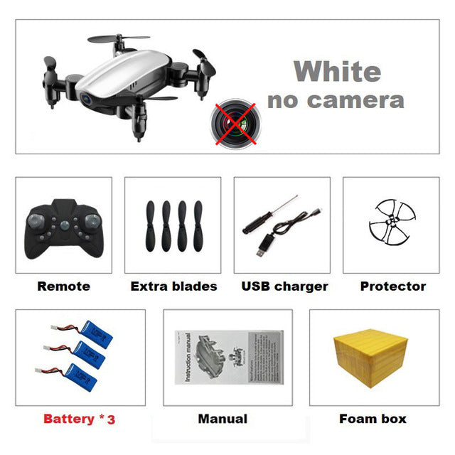 T10 Mini Pocket Quadcopter Drone - Ylime