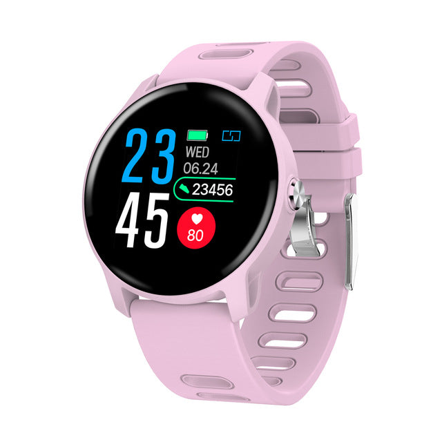 Smart Watch S08 Fitness Men Women Tracker Heart Rate Monitor - Ylime
