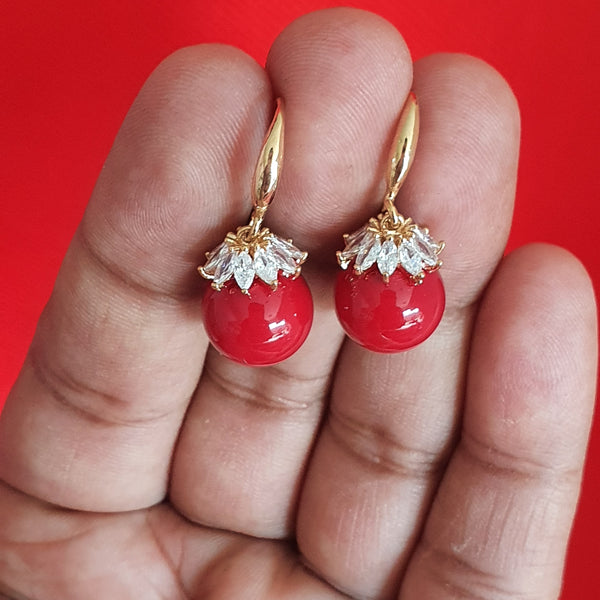 High Quality Zircon Stone Earring