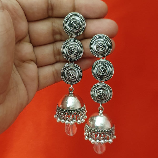 Oxidized Indian Traditional Earring