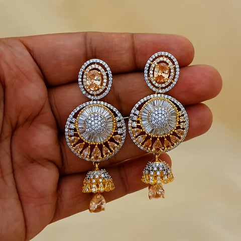 High Quality Zircon Stone Party Earrings