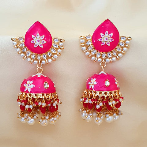Fashion Indian Jewellery – (Pink, Blue , Orange , Green)