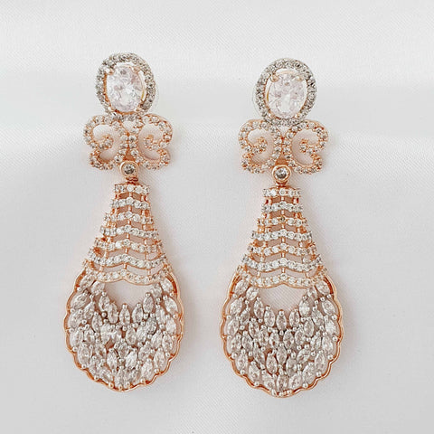 Designer American Diamond Earring