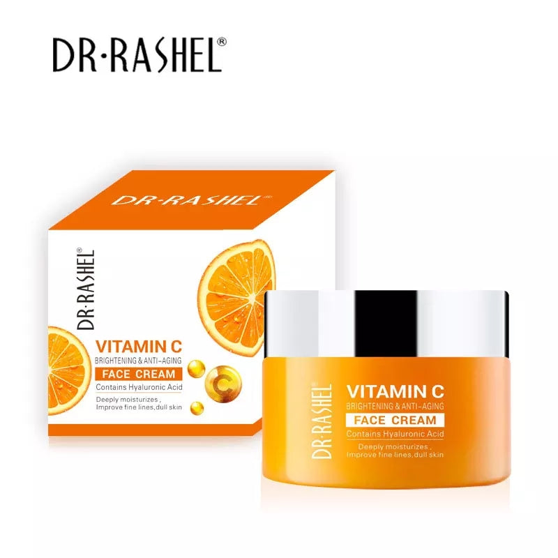 Dr Rashel Vitamin C Brightening & Anti Aging Face Cream 50g