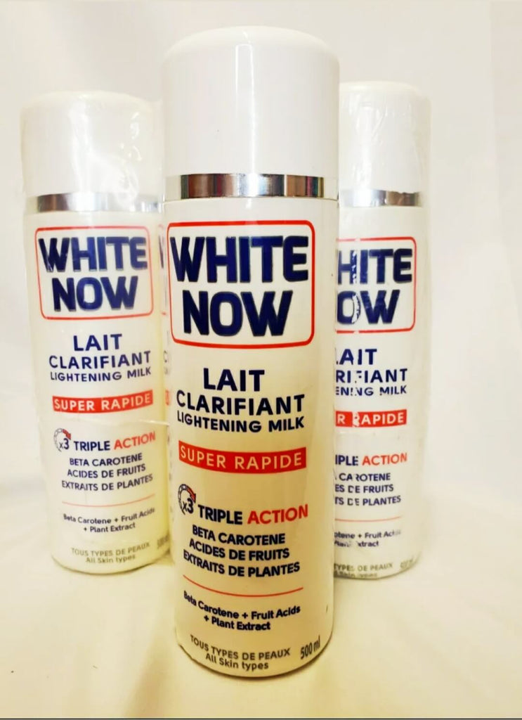 1 Bottle White Now Lightening Milk Triple Action Lotion 500 ml