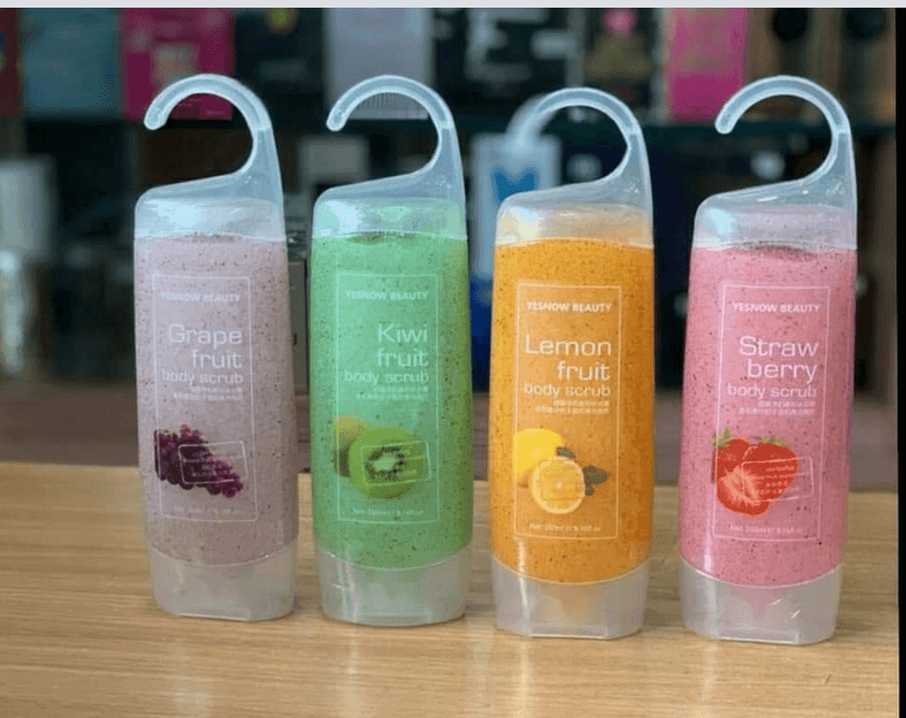 1 Pack Yesnow Lightening Body Scrub Fruit Extract
