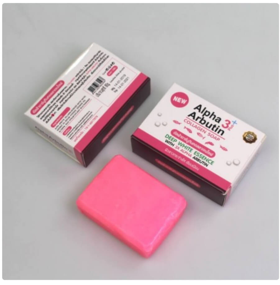 Alpha Arbutin 3+ Whitening Soap