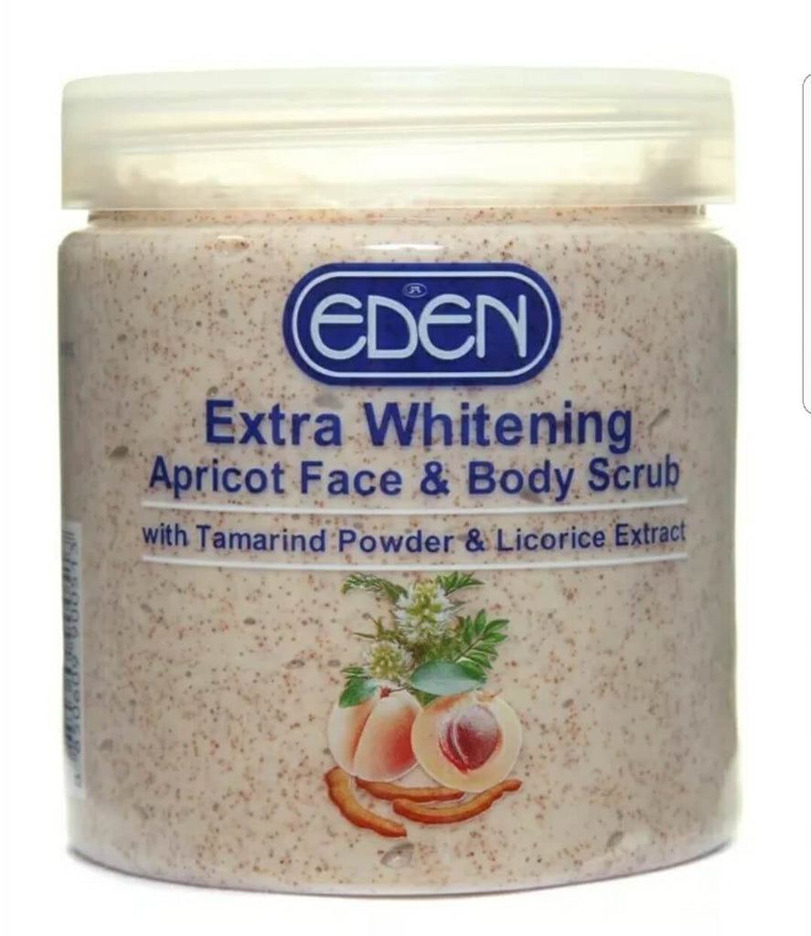 Eden Extra Whitening Apricot Face and Body Scrub