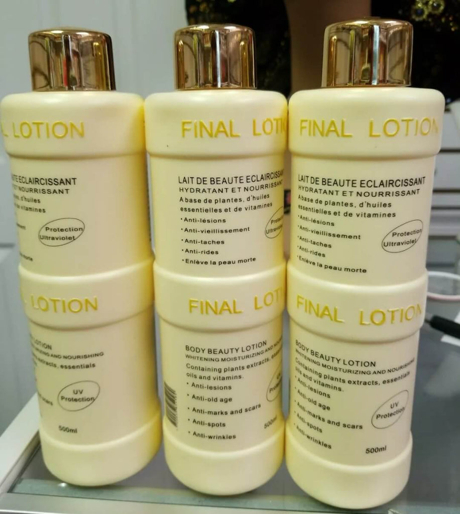 Final Lightening Lotion 500ml