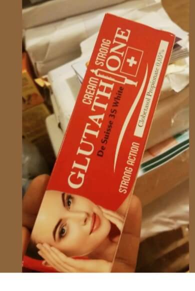 Glutathione Injection Strong Whitening Tube Cream