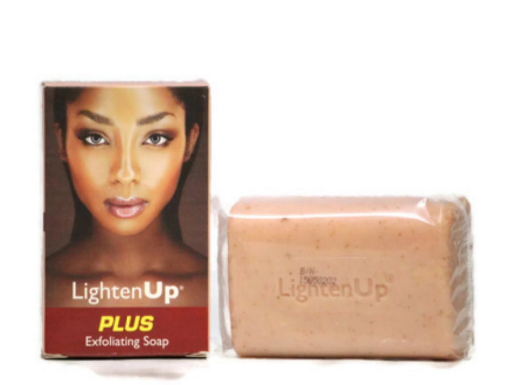 Lighten Up plus exfoliating soap