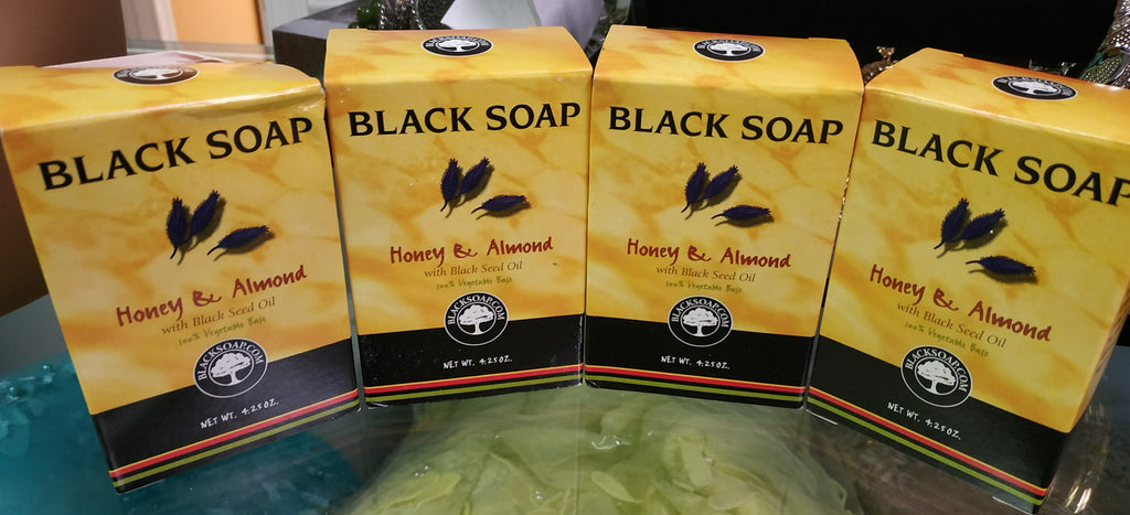 Honey and Almond with black seed extract soap