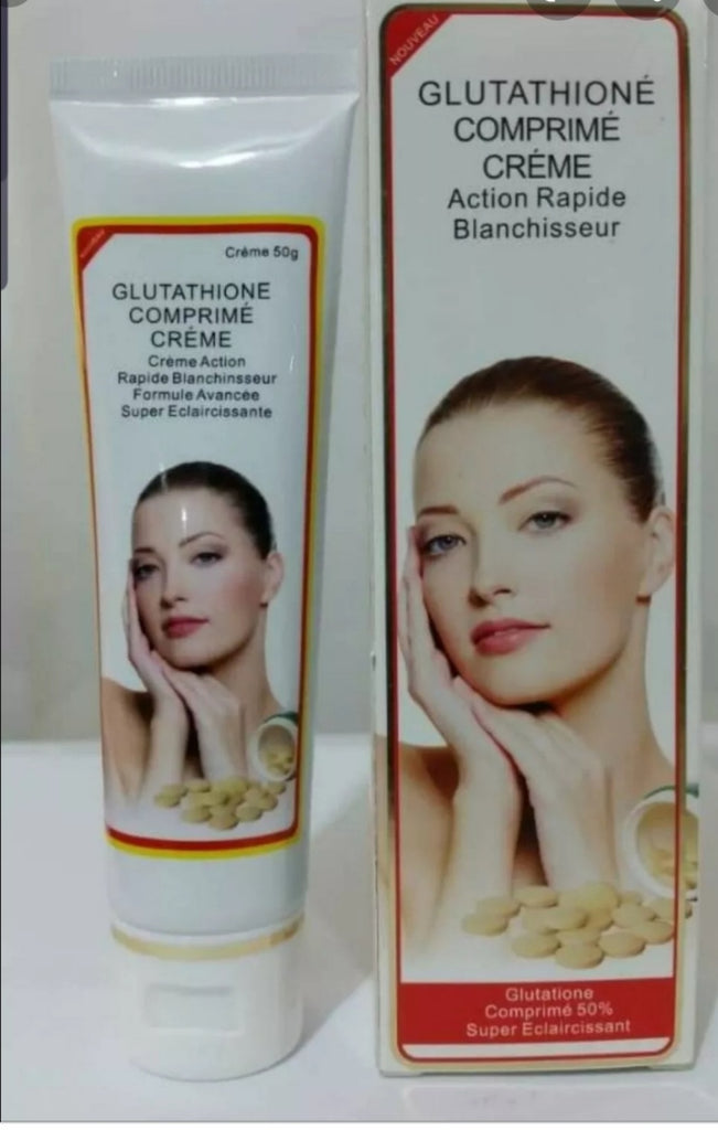 Glutathione Comprime Whitening Fast Action Tube Cream