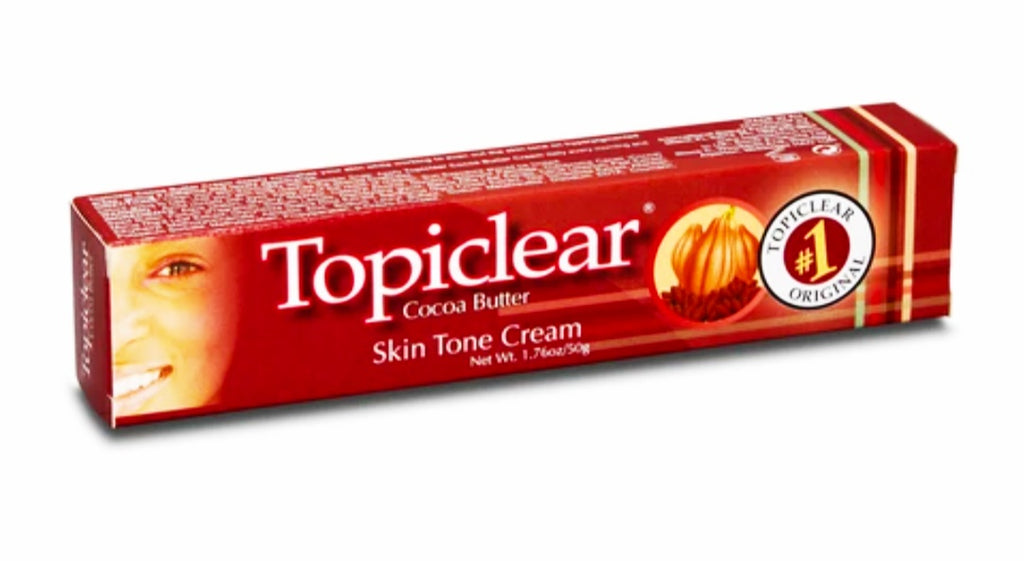 Topiclear Cocoa Butter Skin tone tube cream 50g