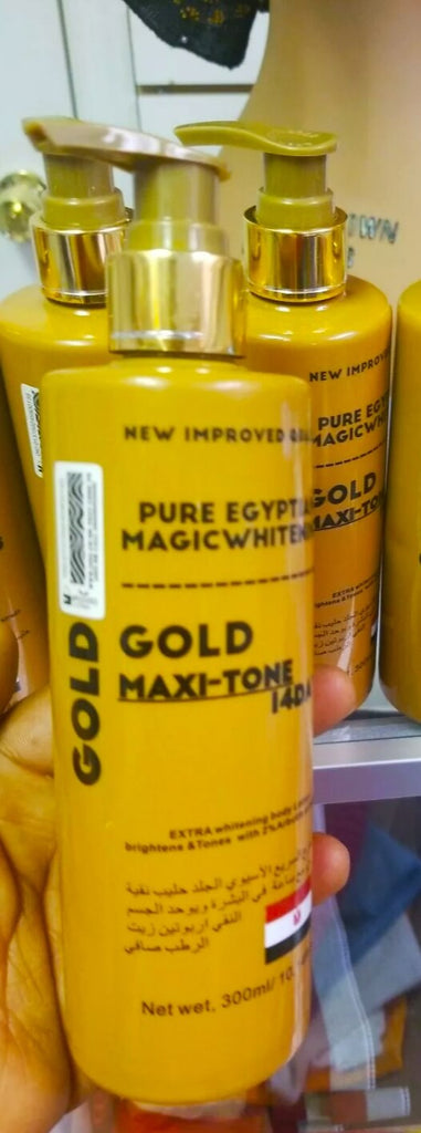 Pure Egyptian Magic Whitening Gold Maxi Tone 300ml