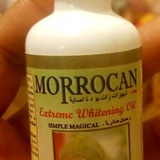 Moroccan Extreme Whitening Oil.