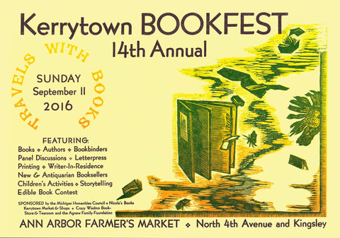 Kerrytown BookFest 2016 information