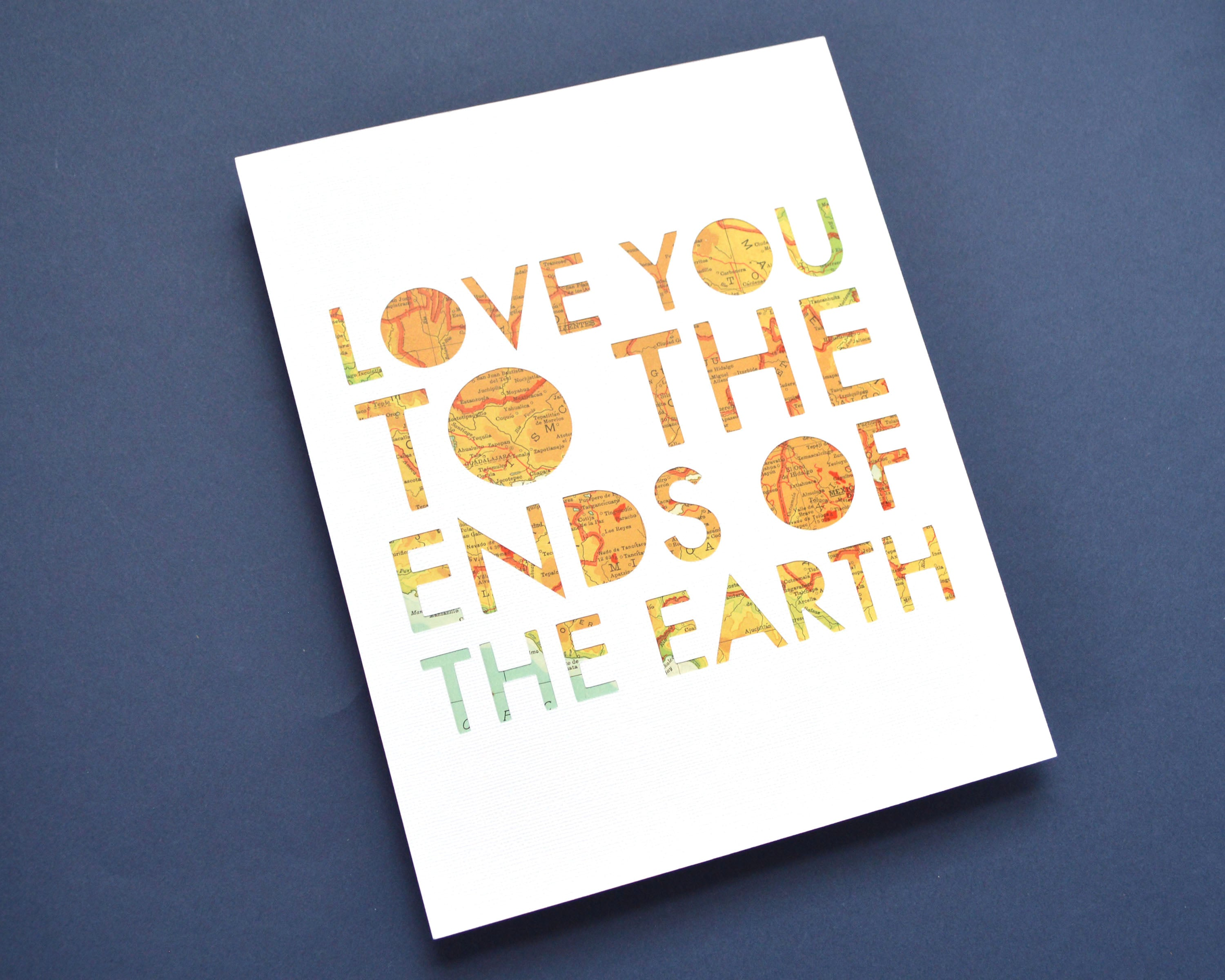 Love You to the Ends of the Earth
