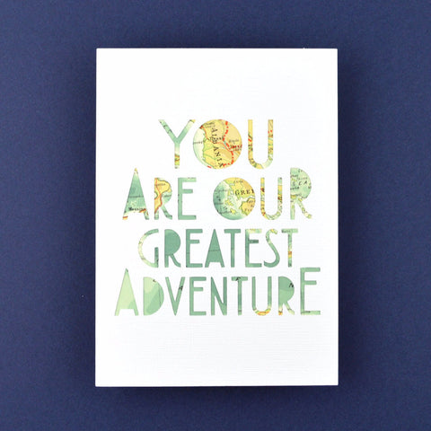 Greatest Adventure in White, 5x7