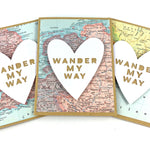 Wander My Way Map Card by Type Shy