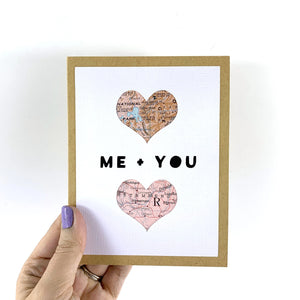 Custom Me + You Card from Type Shy