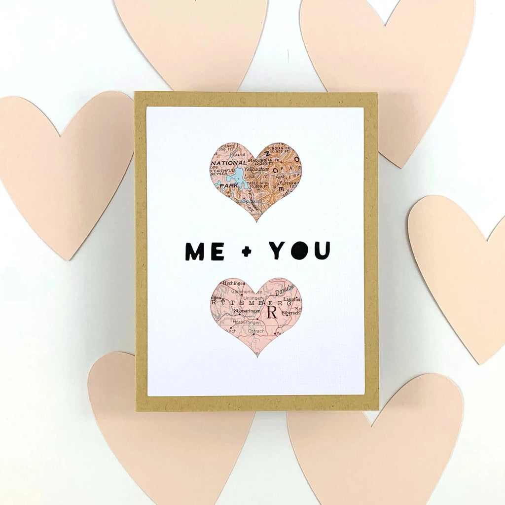 Custom Valentine's Day Card from Type Shy