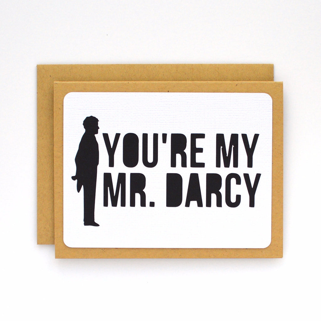 My Mr. Darcy Card
