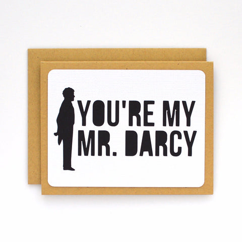 You're My Mr. Darcy Card